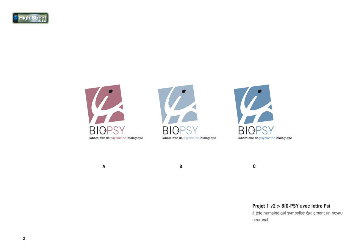 BioPsy - Laboratoire de psychiatrie biologique - logo research