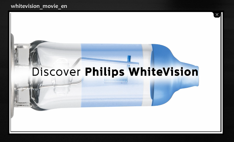 Philips WhiteVision movie for Asia - English version