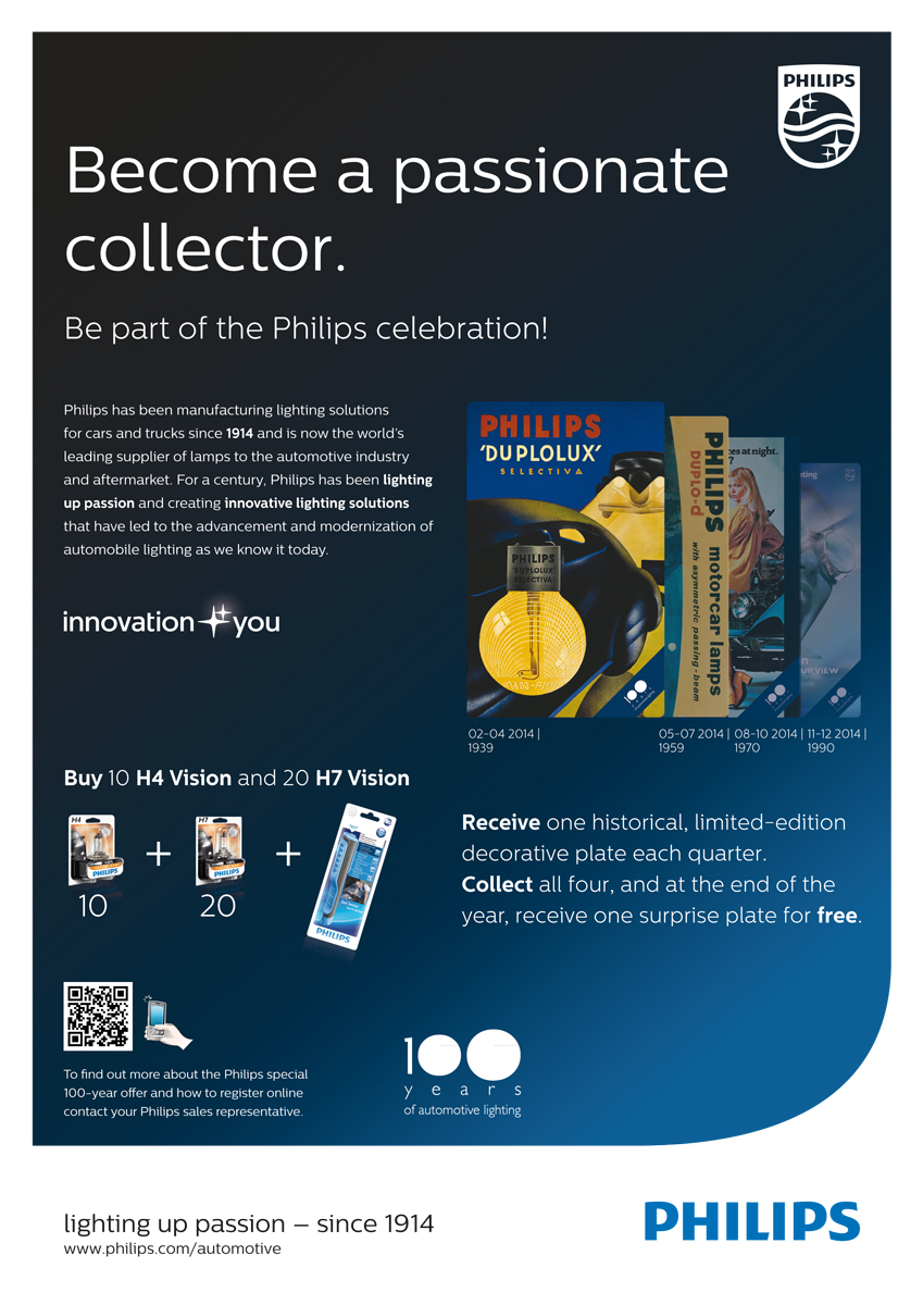Philips automotive - B2B ad