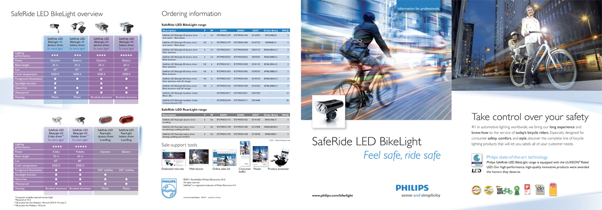 Philips LED Bike-lighting trade leaflet - full pdf