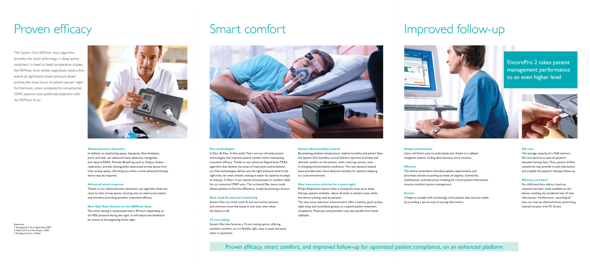 Philips Healthcare - System One product brochure - inside