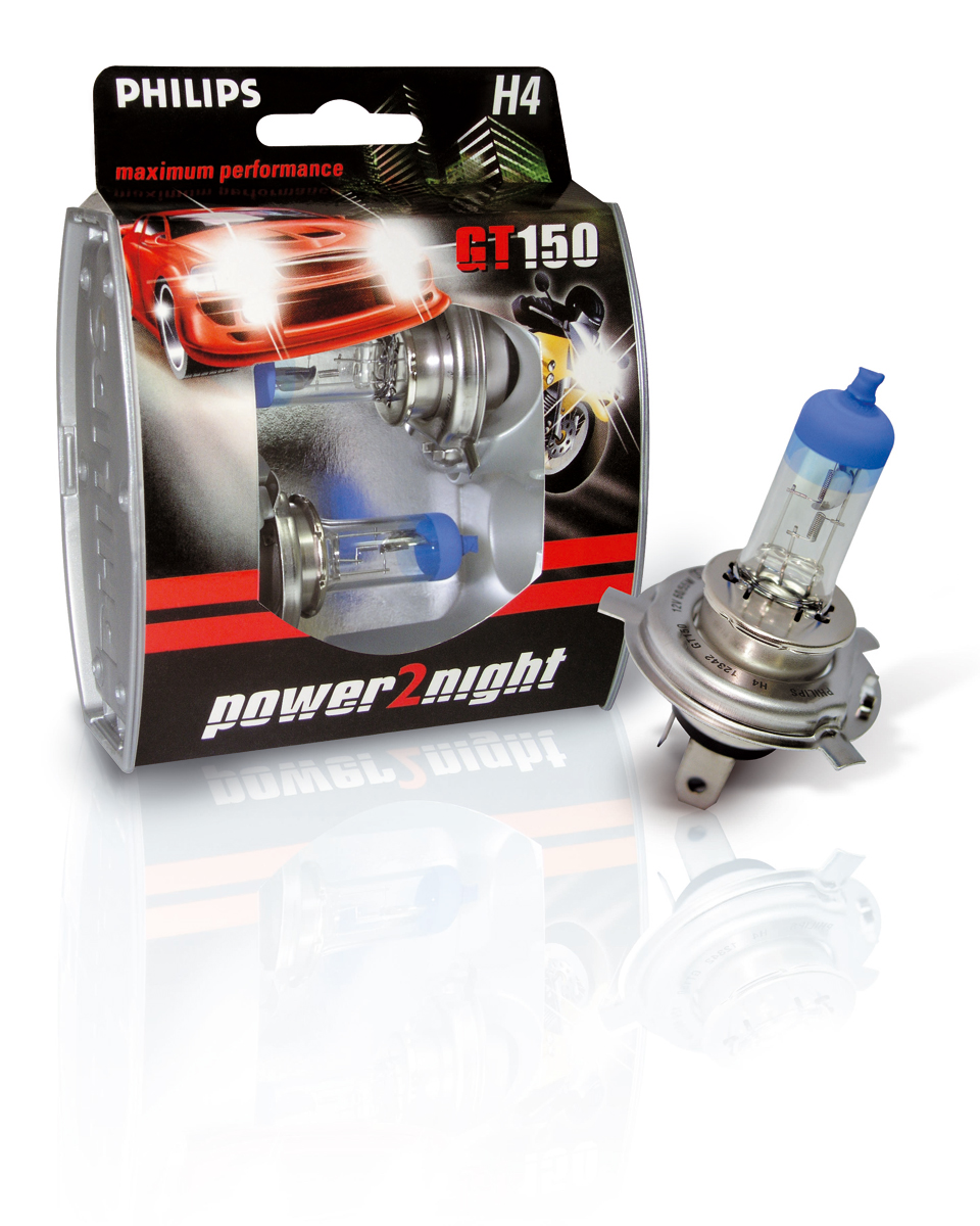 Philips Power2night automotive lighting packaging