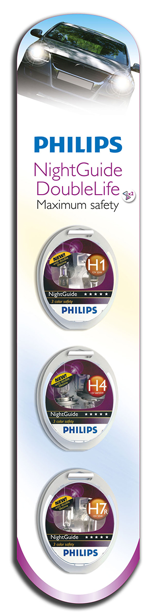 Philips NightGuide DoubleLife clip strip